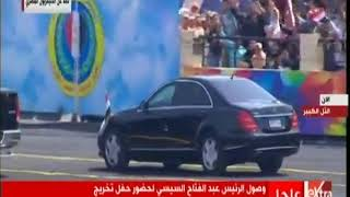 الآن   الرئيس عبد الفتاح السيسي يشهد حفل تخرج الدفعة 157 من معهد ضباط الصف المعلمين