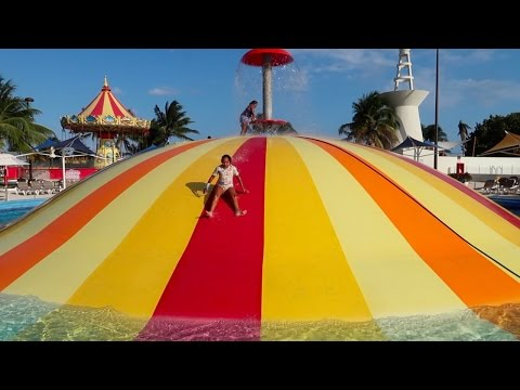 Crazy Balloon Water Slide – Water Park Fair Playground – Family Fun For Kids