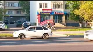 Драка водителей в Астане