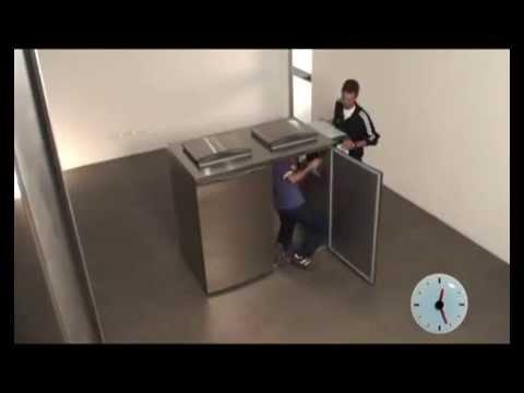 video 1, Container de Déchets Réfrigéré Simple MERCATUS