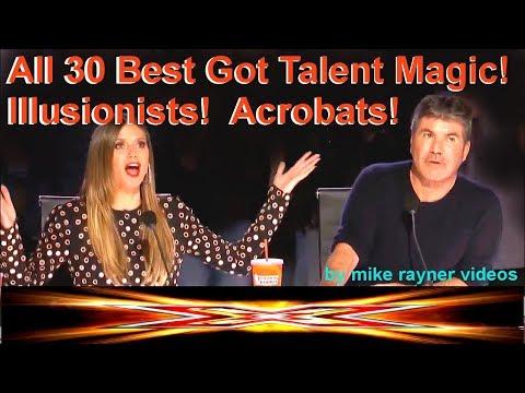 All 30 Best Got Talent! Magic! Illusionists! Acrobats! Amazing Worldwide Auditions! AGT - BGT 2018