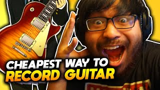 How To Record Your Guitar Audio From Your Phone 🎸 ** THE BEST WAY EVER **