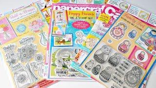 Unboxing Revistas Scrapbooking Y Cardmaking