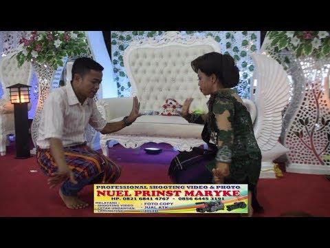 Adu  Upin & Ipin ( Narta PA - Linda Br  Sitepu ) di  Jambur Tanarasita Tjg  Langkat