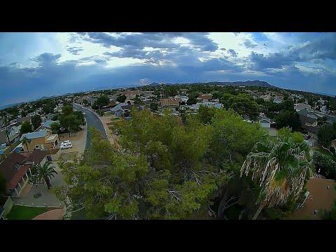 Geelang Ligo78x Pro 2 Caddx Polar Vista - FPV Cloudy Day Buzzing Around The Neighborhood