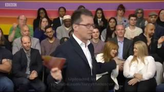 BBC One fault during The Big Questions (29th April 2017)