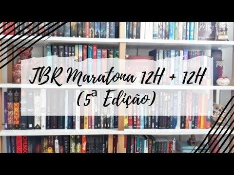 TBR Maratona 12H + 12H (5ª Edição) | Um Livro e Só