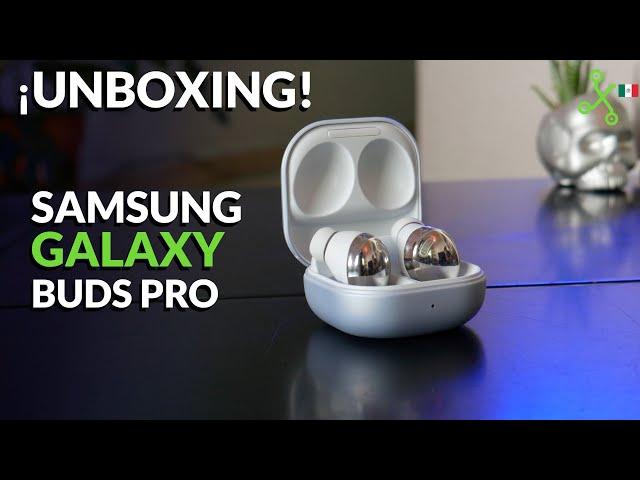 SAMSUNG Galaxy Buds Pro UNBOXING E IMPRESIONES en México, pequeños y con MEJOR cancelación de ruido
