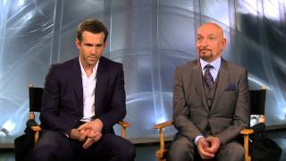 Selfless: Ryan Reynolds & Ben Kingsley Behind the Scenes Movie Interview