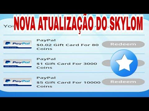 Nova Atualização do SKYLOM - Ganhe dinheiro no paypal vendo vídeos