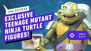 The Raddest Retro Teenage Mutant Ninja Turtles Action Figures!