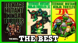 The Original TMNT Trilogy: TOP 30 MOMENTS! (FULL MOVIE)