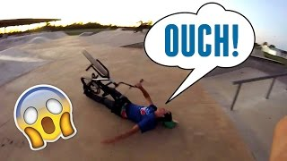 BMX WEBISODE #10 TOOTH HANGER GONE WRONG