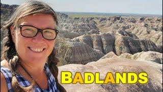 RV Living Road Trip to Badlands South Dakota- AMAZING!