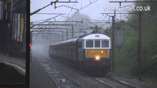 preview picture of video '86259 passes Welwyn North with The Hadrian'