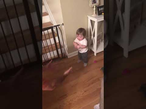 Leland's first steps