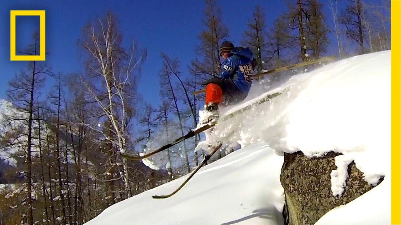 Hit the Slopes with World's First Skiers | National Geographic thumbnail
