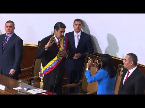 Venezuela's Maduro sworn in for second six-year term