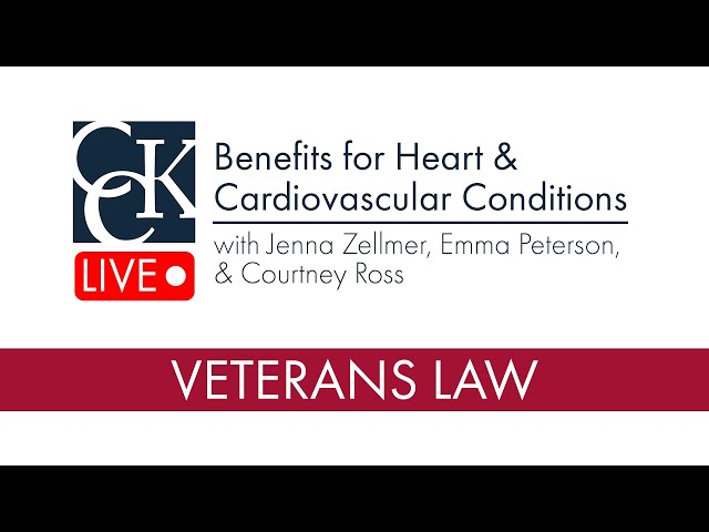 VA Disability Benefits for Heart and Cardiovascular Conditions