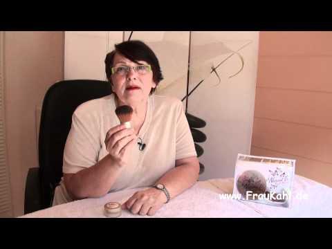 Kosmetik Tipps von Frau Kahl - Mineralpuder gegen Pickel, unreine Haut & Entzündungen