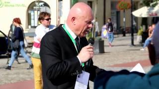 Pikieta Stop dopalaczom w Krośnie