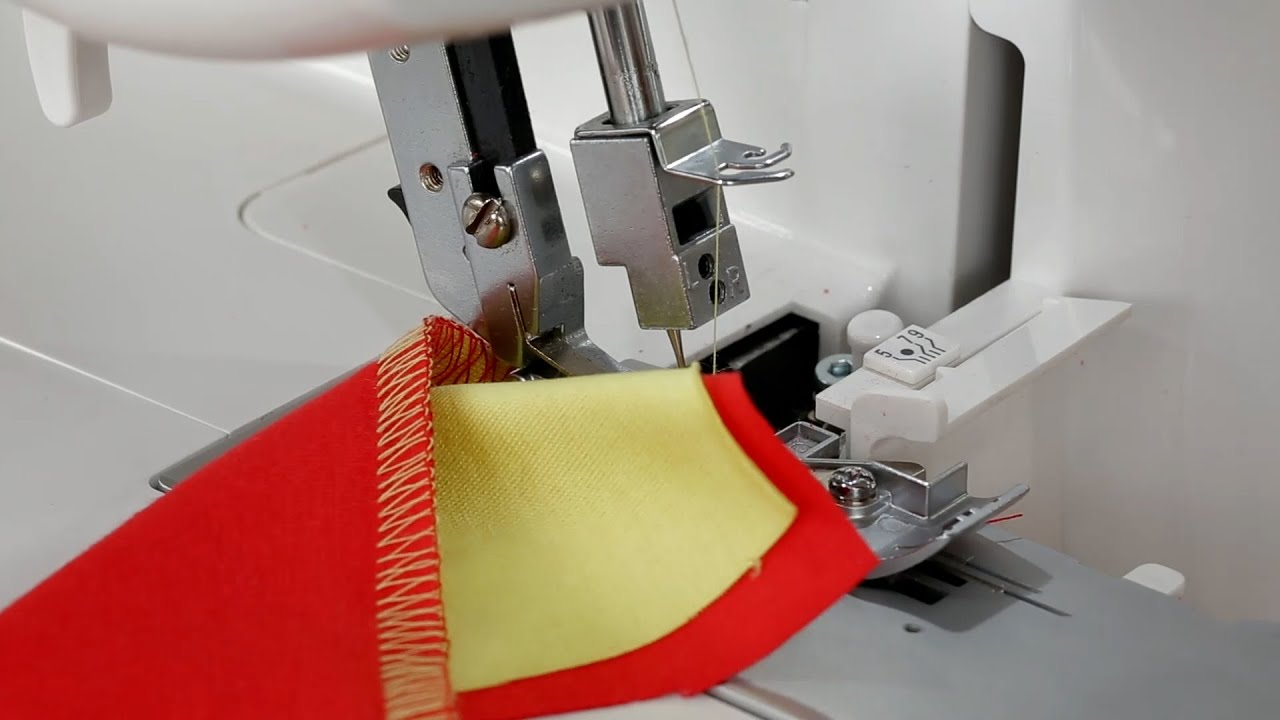 BERNINA L 450: video instructions 5/8
