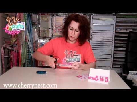 Χάρτινο φιογκάκι για κάρτα