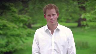 A message from Prince Harry at the CHIME for Change concert, Twickenham, London