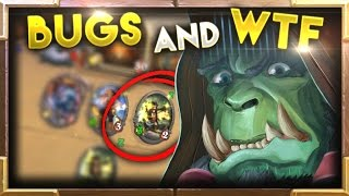 Crazy BUGS and WTF Moments Ep.4 | Hearthstone