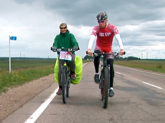 По России – на велосипеде!
