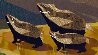 СИМУЛЯТОР Маленького хомячка #2 мультяшная игра про барсука как симулятор дикой мыши #ПУРУМЧАТА