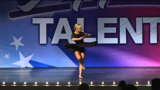 "Madison Duncan Solo ""School Night"" by Ani DiFranco Lyrical Dance"