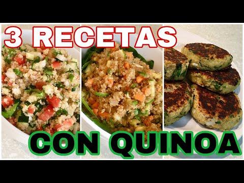 QUINOA 3 RECETAS FÁCILES | LUNES SIN CARNE | By VISAN