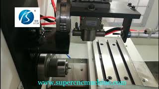 CNC Lathe With Pneumatic Automatic Feeding Processing