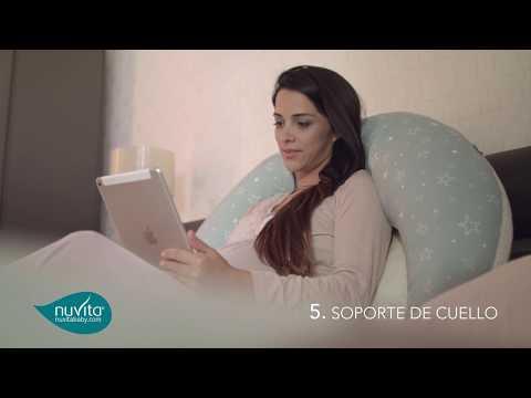 Cojín De Embrazo y Lactancia 10 En 1 Lady white Nuvita Dreamwizard
