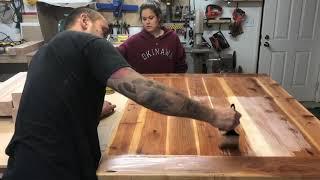 Bar Height Farm Style Kitchen Table