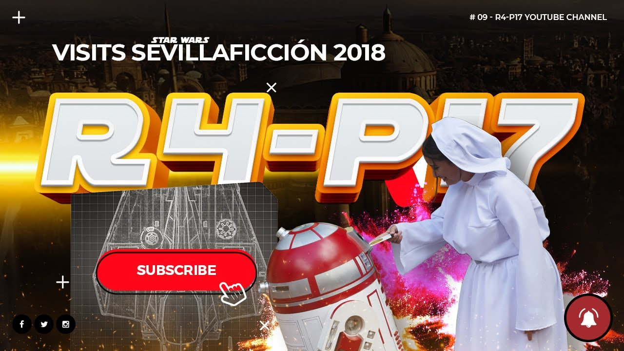 R4-P17 at SevillaFicción 2018 [Sevilla – Spain]