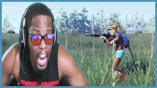 PLAYING TWO GAMES AT ONCE - H1Z1 Battle Royale Gameplay