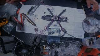 Armando un FPv drone (timelapse)