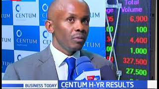 Centum post ksh. 6.8 billion profit in it's half year financial results