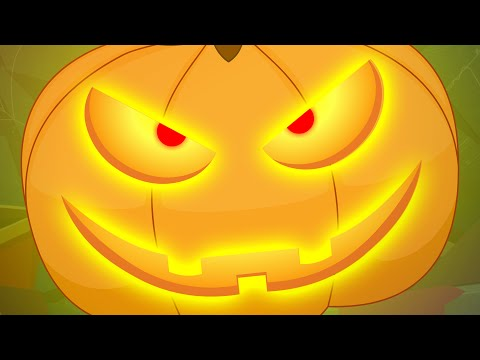 There is scary Pumpkin | Scary Nursery Rhymes For Kids | Children's Song
