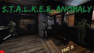 Stalker Anomaly Gameplay Part 21 - Brain Scorcher Part 1