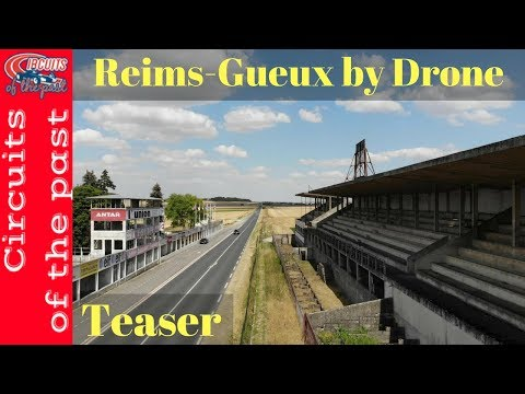 Reims-Gueux Circuit Drone Flight Teaser