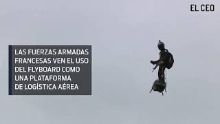 Ejército francés y su nueva tecnología: Soldados voladores
