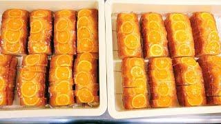 密着24時!オレンジパウンドケーキを大量に作るケーキ屋さんの1日