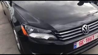Обзор автомобиля Volkswagen Passat 2013 1.8 TSI