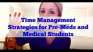 Time management in medical school most popular videos time management strategies for pre meds and medical students ibookread Download