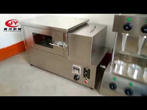 New pizza cone making machine with best quality