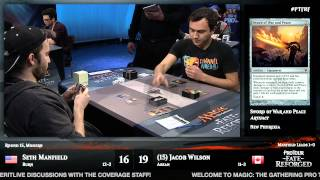 Pro Tour Fate Reforged Round 15 (Modern): Seth Manfield vs. Jacob Wilson