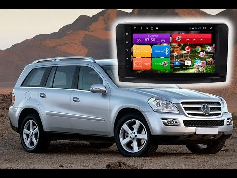 Автомагнитола MegaZvuk PH-5989 Mercedes ML/GL-Class (W164)/(X164) на Android 6.0.1